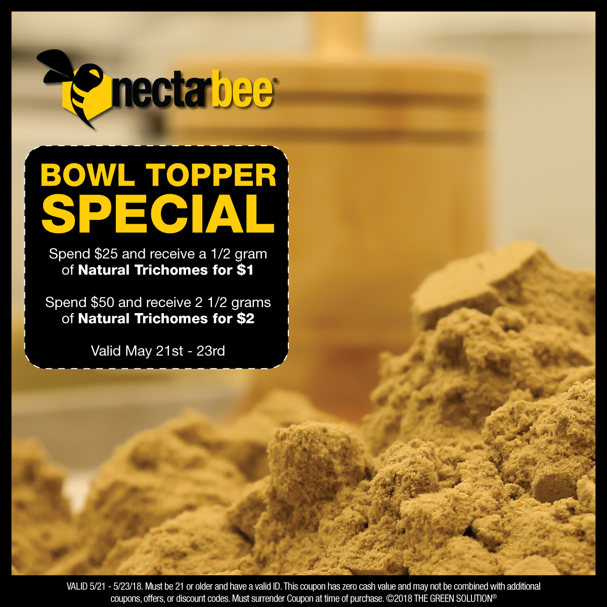 Bowl Topper Special - May 21-23