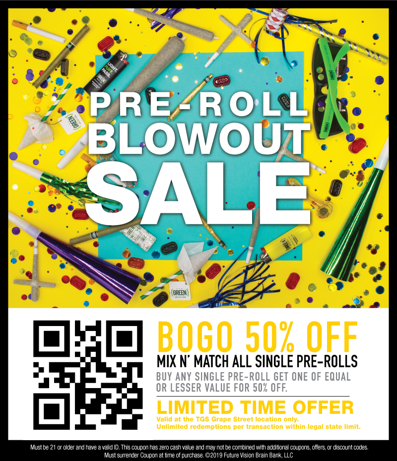 Pre-Roll Blowout at The Green Solution