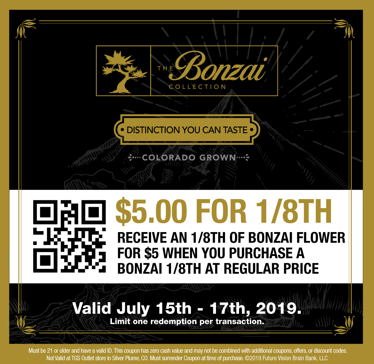 $5 Off Bonzai Collection at The Green Solution