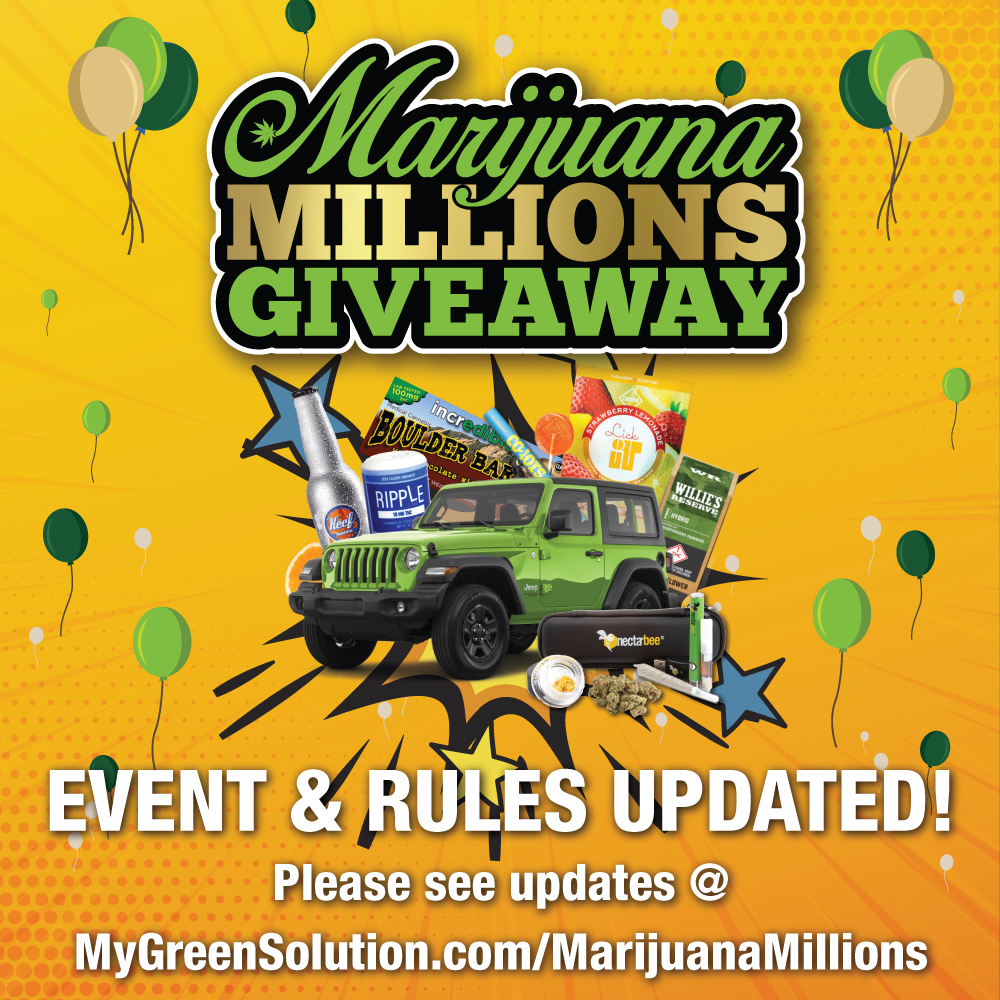 The Green Solution Marijuana Millions Giveaway