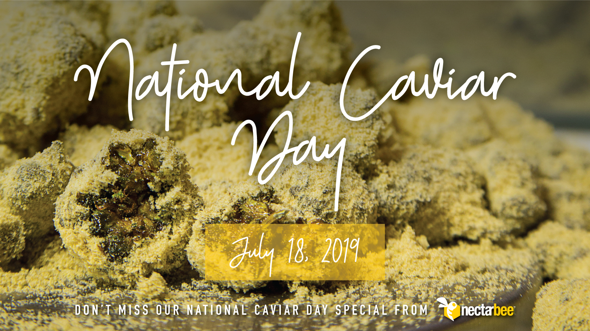 Celebrate Caviar Day with The Green Solution!