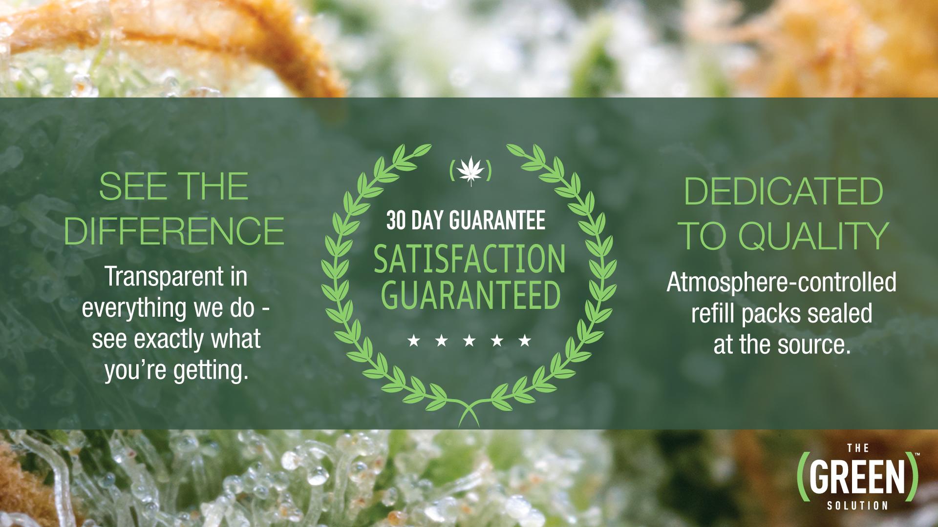 TGS Satisfaction Guarantee