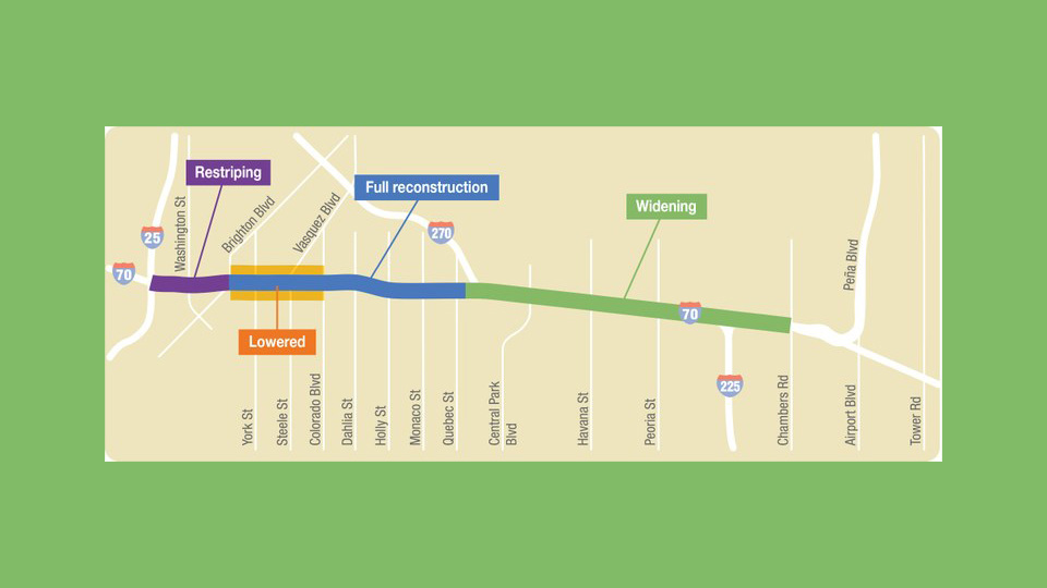 The Central 70 Project set to unclog I 70 and modernize North Denver