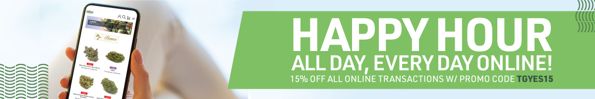 Enjoy 15% your online order when you enter promo code TGYES15 at online checkout.